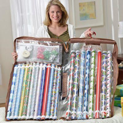 Organizzatore dell'involucro del regalo che può appendere in un armadio