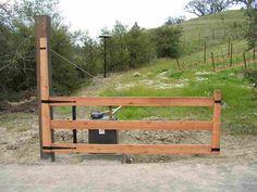 driveway swing gate