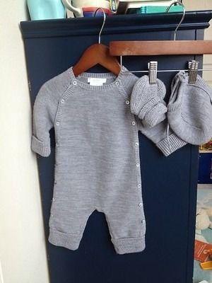 JACADI Infant Merino Wool Outfit