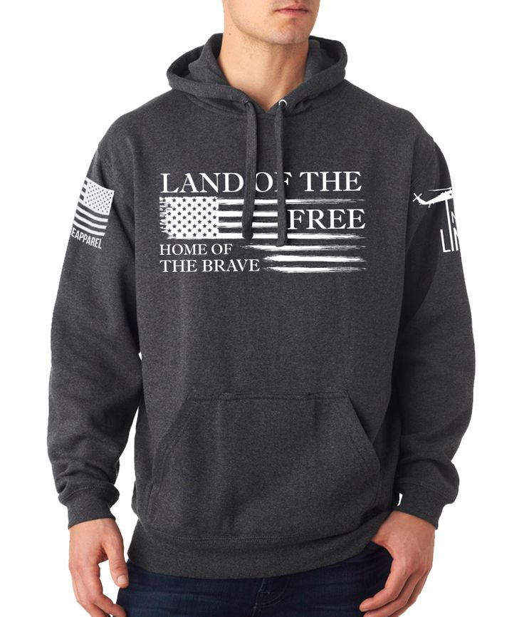 Nine Line Apparel Tailgate Hoodie Home Of The Brave