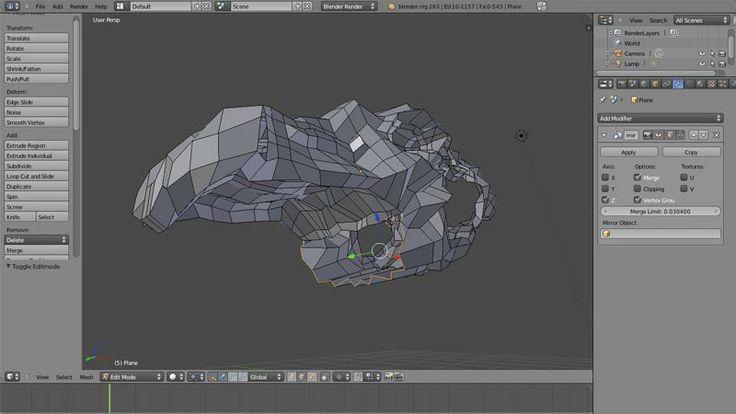 Modelado Dragón parte 4
