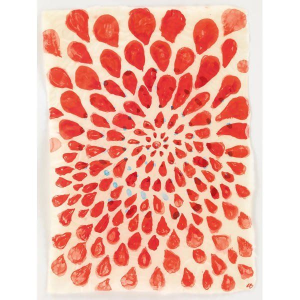 Louise Bourgeois - Untitled, 2004 Watercolor and ink on tracing paper
