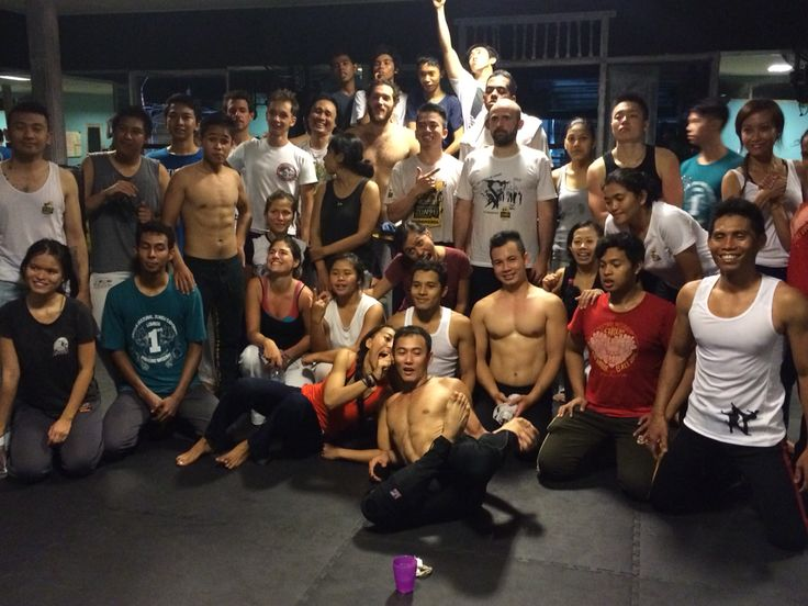 After workshop from our mestre...