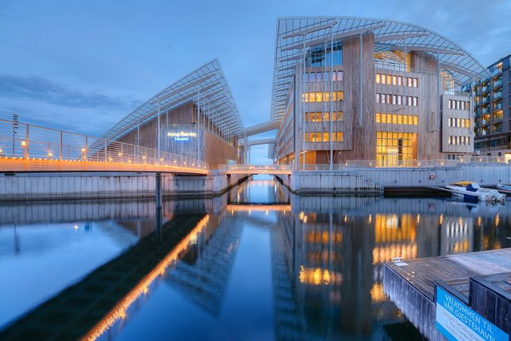 Музей Astrup Fearnley в Осло по проекту Ренцо Пьяно