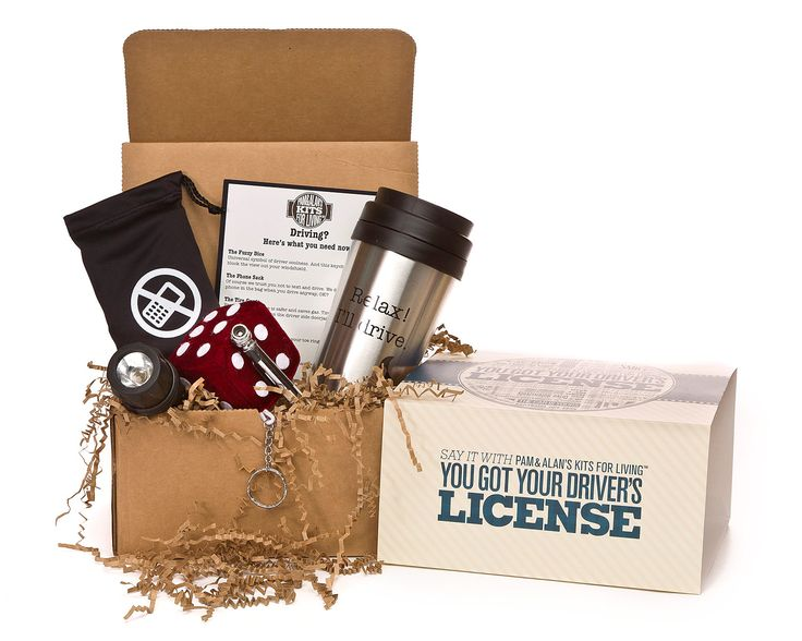 YOU GOT YOUR DRIVER'S LICENSE KIT | Congratulations Gift for New Driver | UncommonGoods