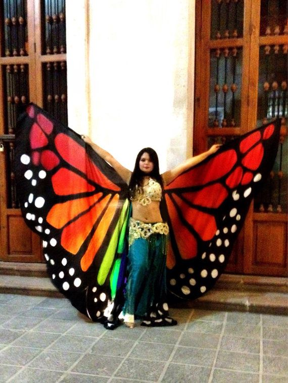 One of a Kind Silk Wings por ISSISsilkandmore en Etsy