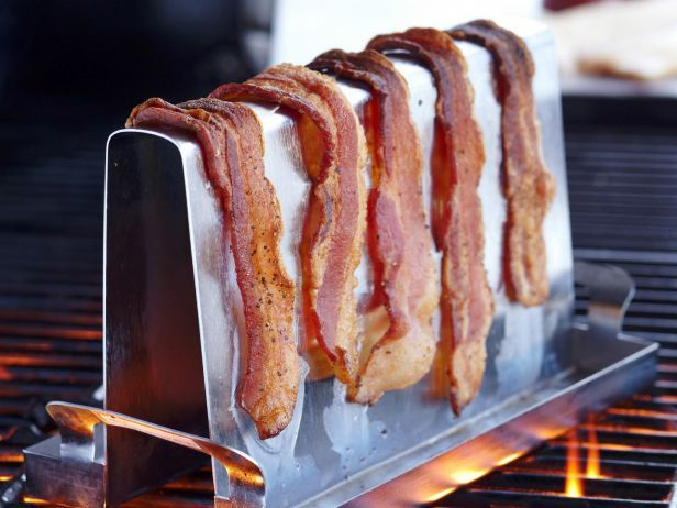 Summer Party Shopping Guides - Food Network Staff Favorites: Camps Ideas, Food Network, Bacon Racks, Gifts Ideas, Fn Dishes, Piggyback Bacon, Grilled Bacon, The Tables, Bacon Grilled