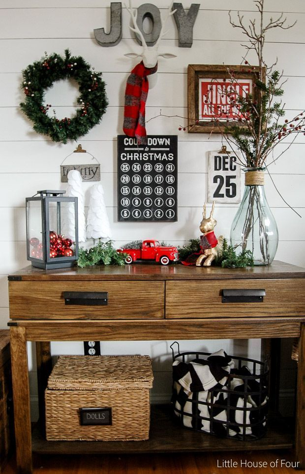 Very Merry Christmas Home Tour - Little House of Four