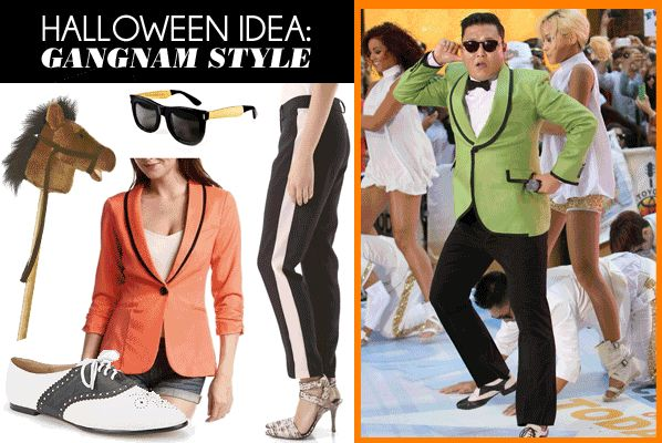 How to make a 'Gangnam Style' Halloween costume for girls