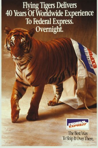 """We are going way back today! #ThrowbackThursday: A quarter-century ago today, Flying Tigers joined forces with Federal Express to become the world's largest full-service, all cargo airline. Read about """"T-Day"""" on our blog. http://oak.ctx.ly/r/1hzw6 #TBT"""