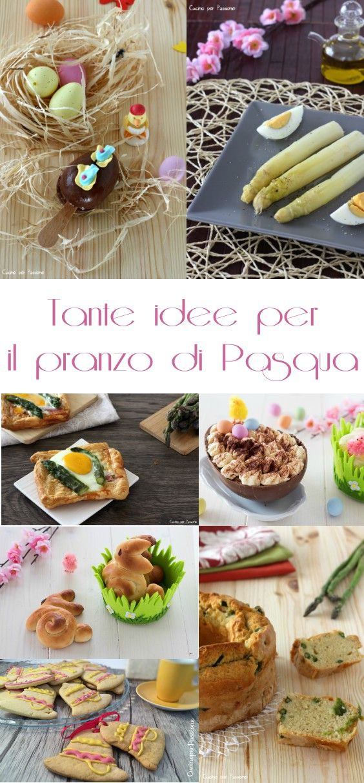 Tante idee per il pranzo di Pasqua  #cucina #ricette #menù #Pasqua