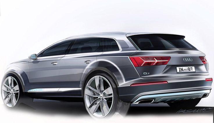 Audi Q7 2015 sketch