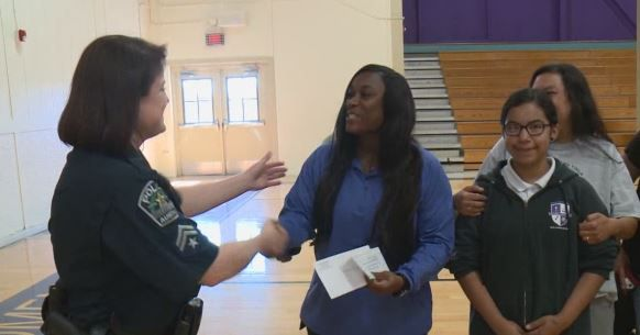 The Austin Police Department, Austin Police Association and the Texas Peace Officers Association each donated several hundred dollars to make it happen.