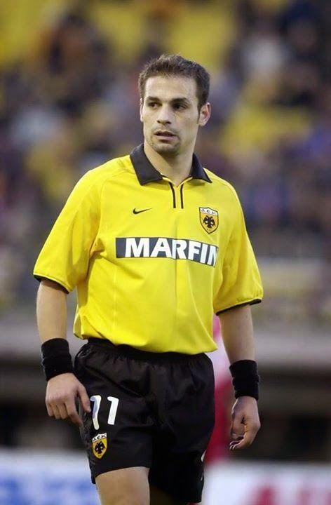Demis Nikolaidis --AEK Athens 2000-01.