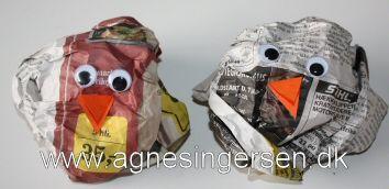 Fugle vi har lavet i min dagpleje, se mere på http://agnesingersen.dk/blog/nem-fugleunge/