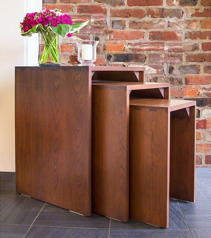 Perfect Space Saving Ideas For Furnishing Your Home. Nesting Tables Are  Great All Purpose Tables · Shaker Style FurnitureNesting ...