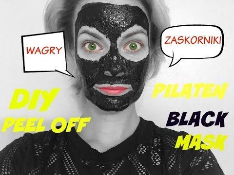 DIY/DOMOWA MASECZKA CZARNA PEEL OFF