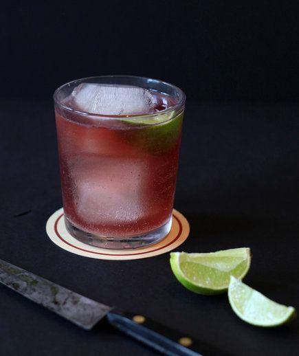 El Diablo | Tequila, ginger beer and creme de cassis