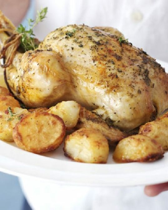 Low FODMAP Recipe and Gluten Free Recipe - Slow Roast Chicken http://www.ibssano.com/low_fodmap_recipe_slow_roast_chicken.html
