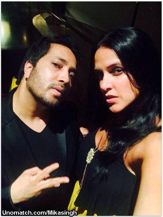 Amrik Singh, known by his stage name Mika Singh was born to Ajmer Singh Chandan and Balbir Kaur and was brought up in Patna, Bihar[3] along with his brother Daler Mehndi. Both his parents took interest in music. He is the youngest of six brothers.. like : http://www.Unomatch.com/Mikasingh/