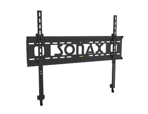 Sonax E-0166-MP Fixed Low Profile Wall Mount for 37-Inch to 65-Inch TV's by Sonax. $81.12. Flush your TV to the wall with this ultra slim flat panel wall mount by Sonax. Designed for TV's 37-inch to 65-inch this fixed low profile mount sits just 1.9 cm from the wall for a close custom fit. The heavy duty metal construction is built to hold up to 132lbs so you can mount your TV with confidence. Complete with a built in leveling system for easy DIY installation and VESA mounting...