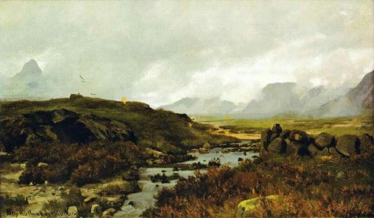 Kitty Lange Kielland (Norwegian painter) 1843 - 1914