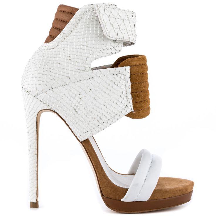 Rocco heels White brand heels Mia Limited Edition |Amazoning Heels|