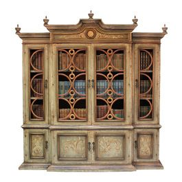 Tuscan Bookcase 46 Mediterranean Home Office Products Decor Pinterest Decorating
