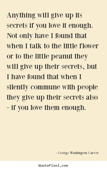 George Washington Carver quotes on success