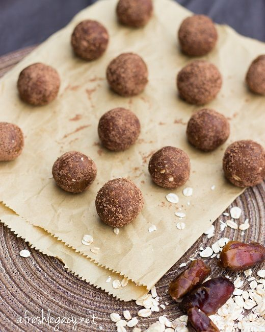 Raw Cocao Muesli Balls - nut free, dairy free, refined sugar free and ready in a few minutes.