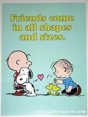 Snoopy hugs all around! !