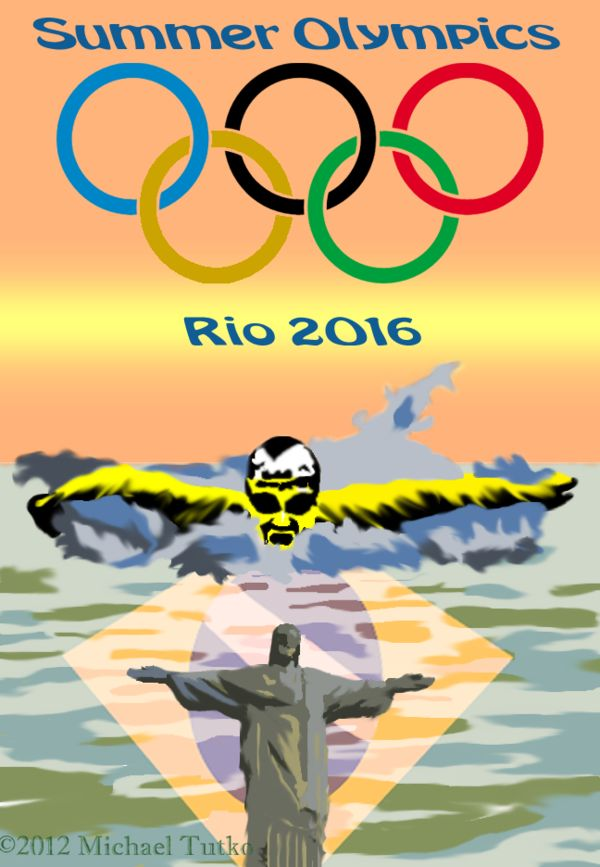 Rio 2016 Summer Olympics Poster by GreenFalcon13 on DeviantArt