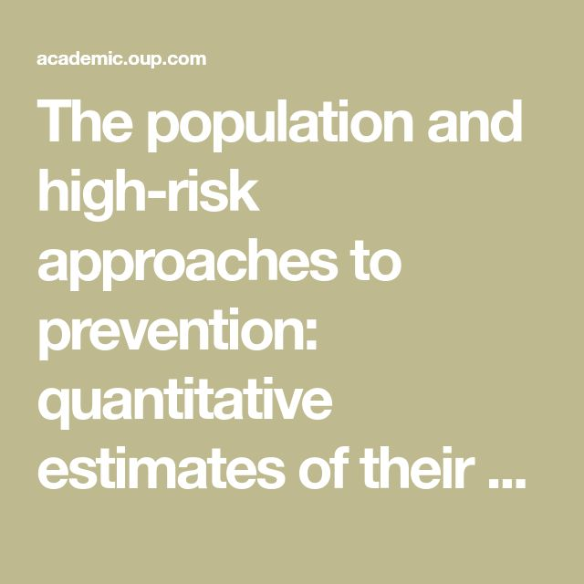The population and high-risk approaches to prevention: quantitative estimates of their contribution to population health in the Netherlands, 1970–2010