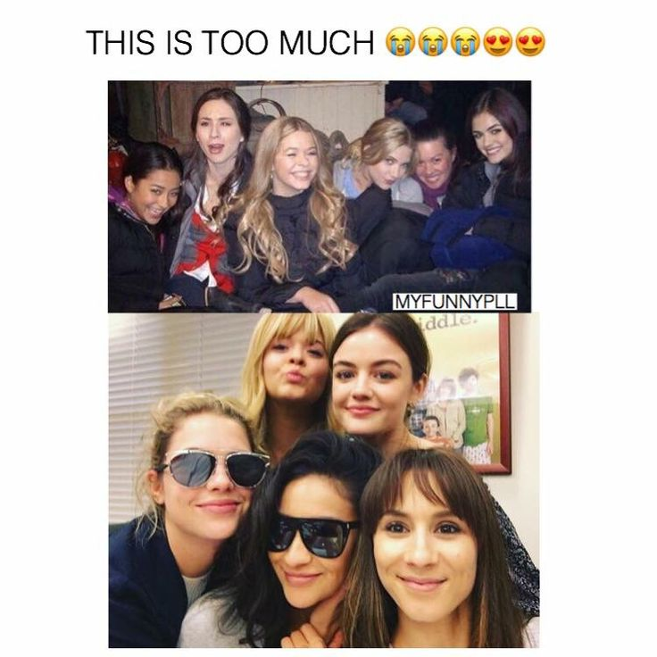 Pll Cast Hookup In Real Life