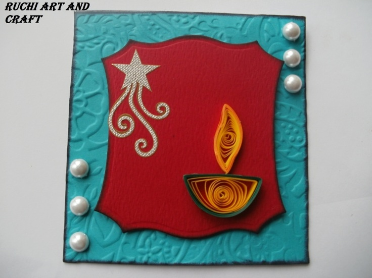 DIWALI CARD - Indian Craft Room