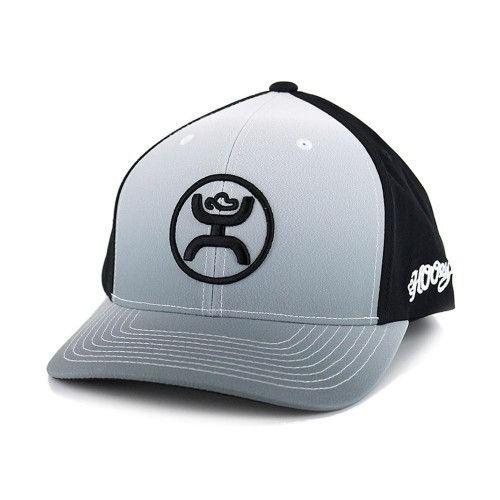 Hooey Hat Cody Ohl Fade Black/White Snapback Ball Cap 1633T-BKWH