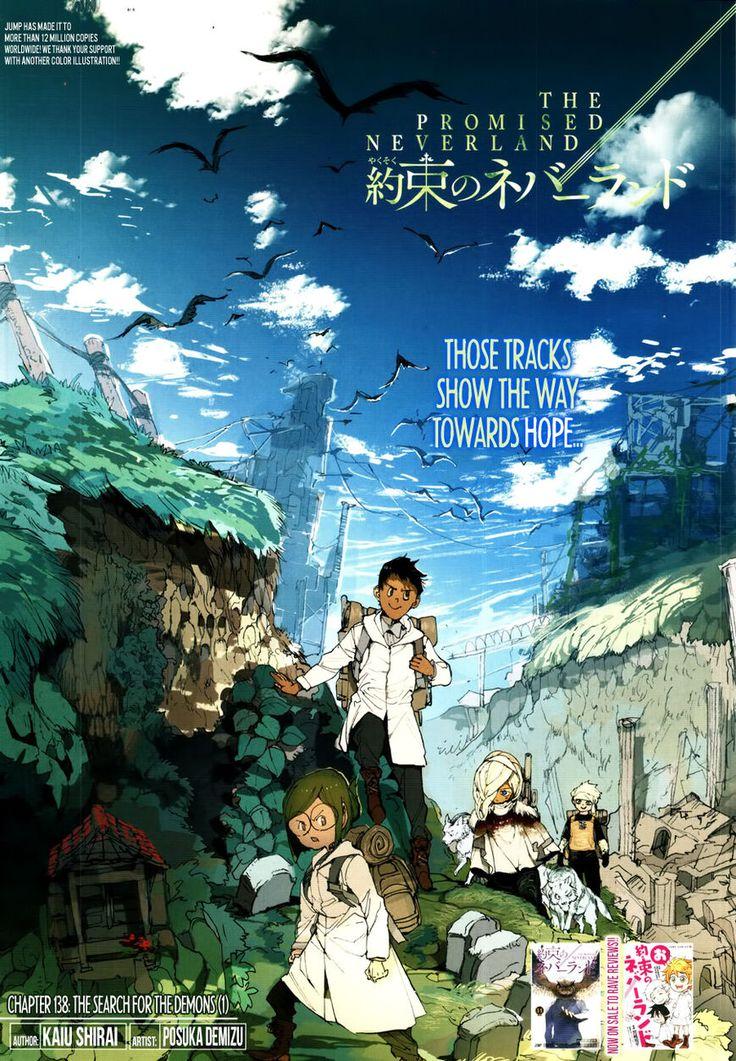 Yakusoku No Neverland 138 Read Yakusoku No Neverland Chapter 138 Online Page 1 El Pais De Nunca Jamas Poster Anime Demonios