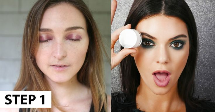 I Tried Kendall Jenner's Smoky Eye Trick and Got So Many Compliments