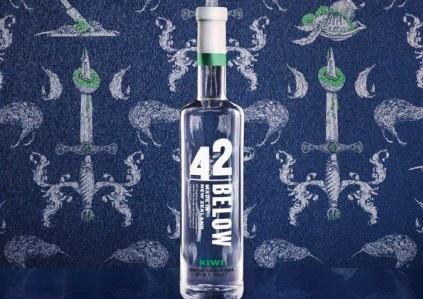 42 below vodka: kiwis were harmed in the making of this vodka