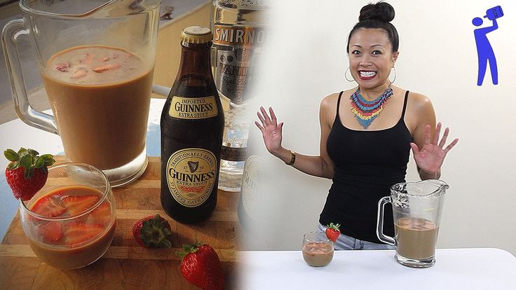 Strawberry Guinness Punch - Tipsy Bartender | 21 ...