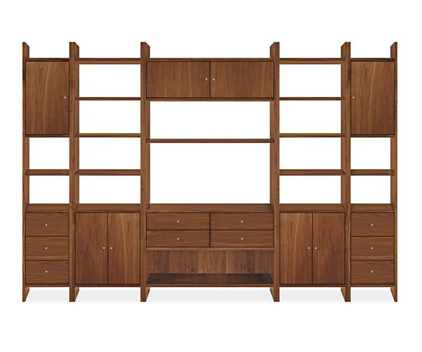 Room & Board - Addison 84h 122w Wall Unit