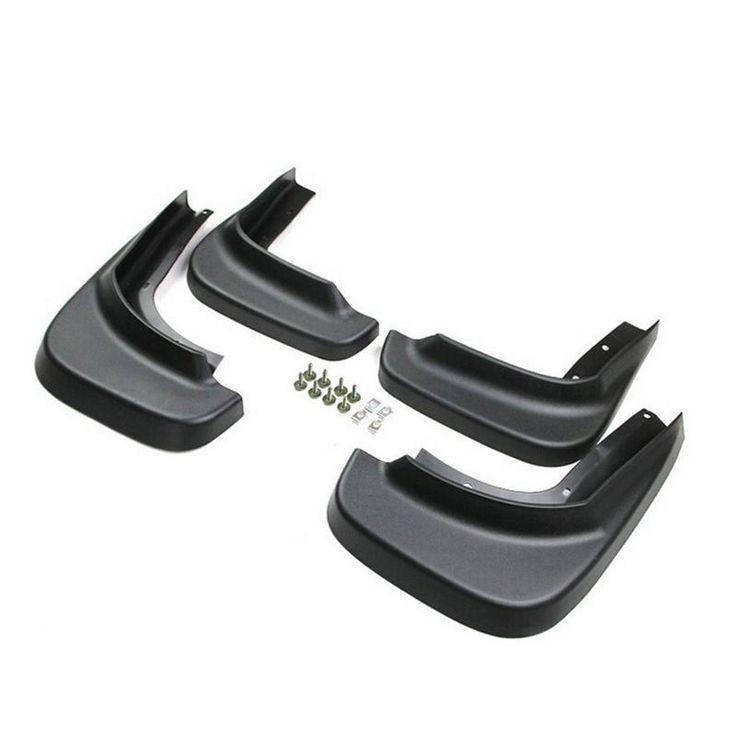 [Visit to Buy] Car Auto Accessories Splash Guards Fender Mud Flaps Mudguard For Volvo XC60 2009 2010 2011 2012 2013 Soft Plastic 4pcs Per Set #Advertisement