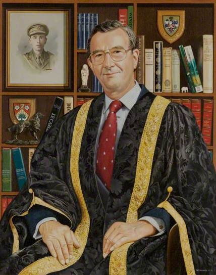 Roger John Godfrey, LLB, LLD, President of the Council (1983–1993): Council 19831993