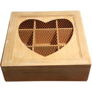 Small Wood Storage Box With Lid