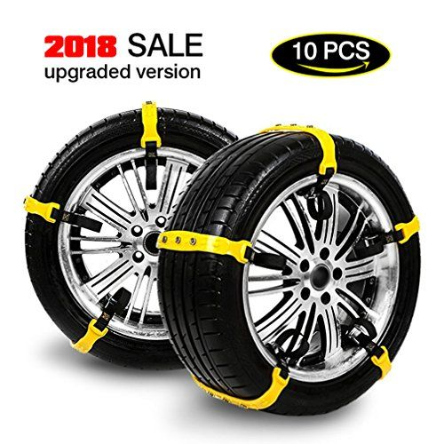 Tire Chains For Cars Snow Chains For SUV JEEP Anti-skid Emergency Snow Tire Chains Truck Car Belting Straps Mud Snow Chains,Width( 185mm-295mm),Set of 10 pcs. For product info go to:  https://www.caraccessoriesonlinemarket.com/tire-chains-for-cars-snow-chains-for-suv-jeep-anti-skid-emergency-snow-tire-chains-truck-car-belting-straps-mud-snow-chainswidth-185mm-295mmset-of-10-pcs/