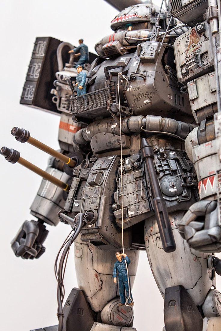 GUNDAM GUY: Revenge: MG 1/100 Zaku Supplementary Story 'Maintenance' - Diorama Build