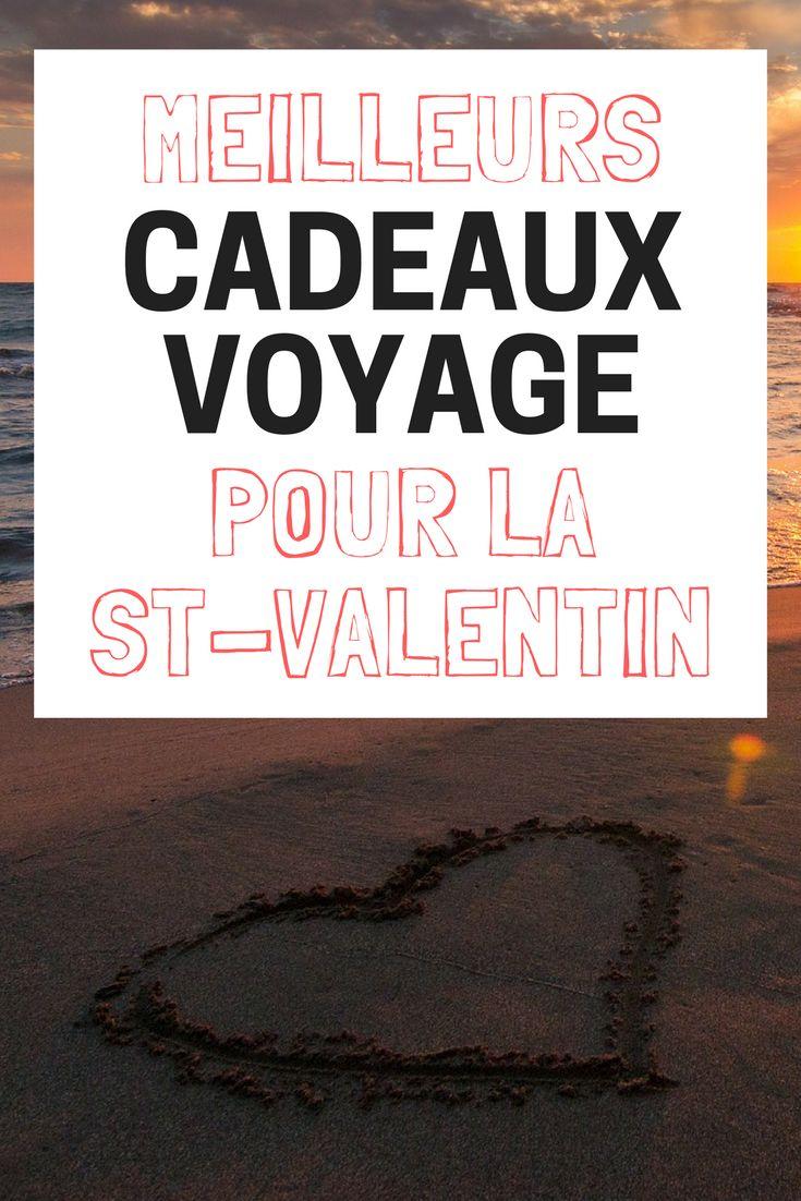 Votre amoureux ou votre amoureuse est un grand voyageur? Ces quelques idées-cadeaux devraient lui plaire pour la Saint-Valentin. #cadeaux #st-valentin #fevrier #love #voyage