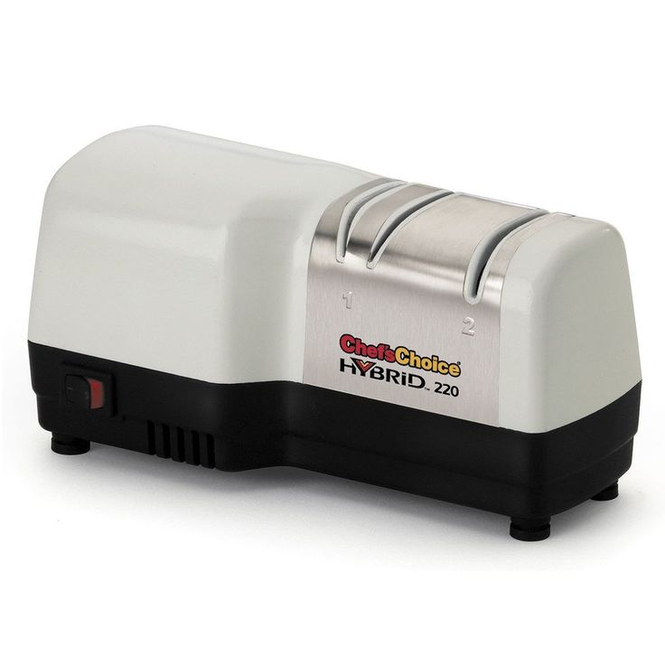 Chefs Choice 220 Electric Knife Sharpener - 3 Stage Diamond Hone Hybrid Manual  #ChefsChoice