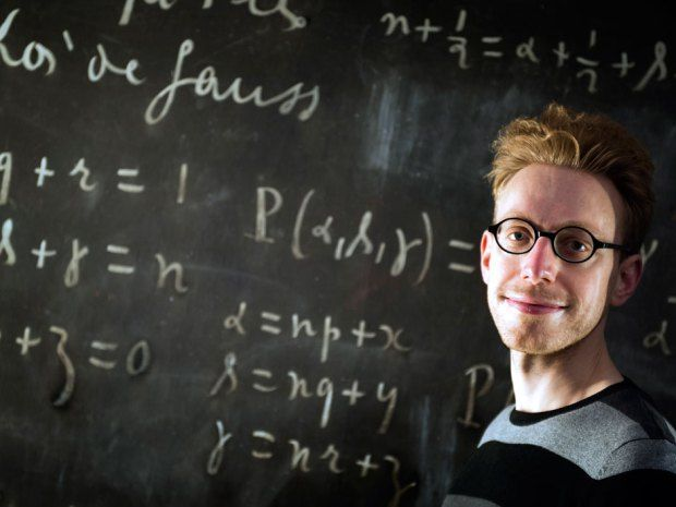 American Jason Padgett didn't know what his condition was until seeing Daniel Tammet, pictured, a young Londoner with savant syndrome, in a ...