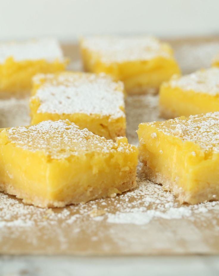 These creamy, tangy lemon bars are perfectly complemented by a sweet, crisp crust made with the all-purpose pantry staple, Bisquick. Recipe: Lemon Bars with Bisquick Crust Related:Sweet-Tart Lemon Bar Recipes   - Delish.com